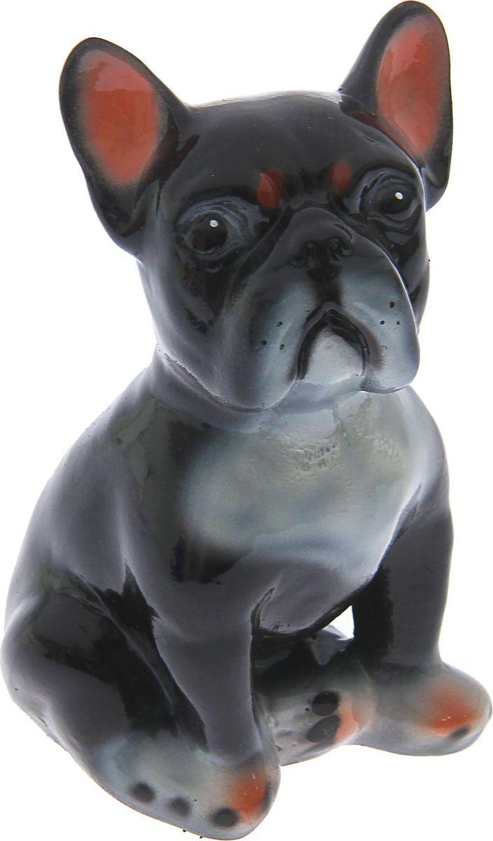 Фото - Копилка Керамика ручной работы Французский бульдог, 12 х 10 х 19 см. 330868 копилка керамика ручной работы собака боксер 19 х 14 х 34 см