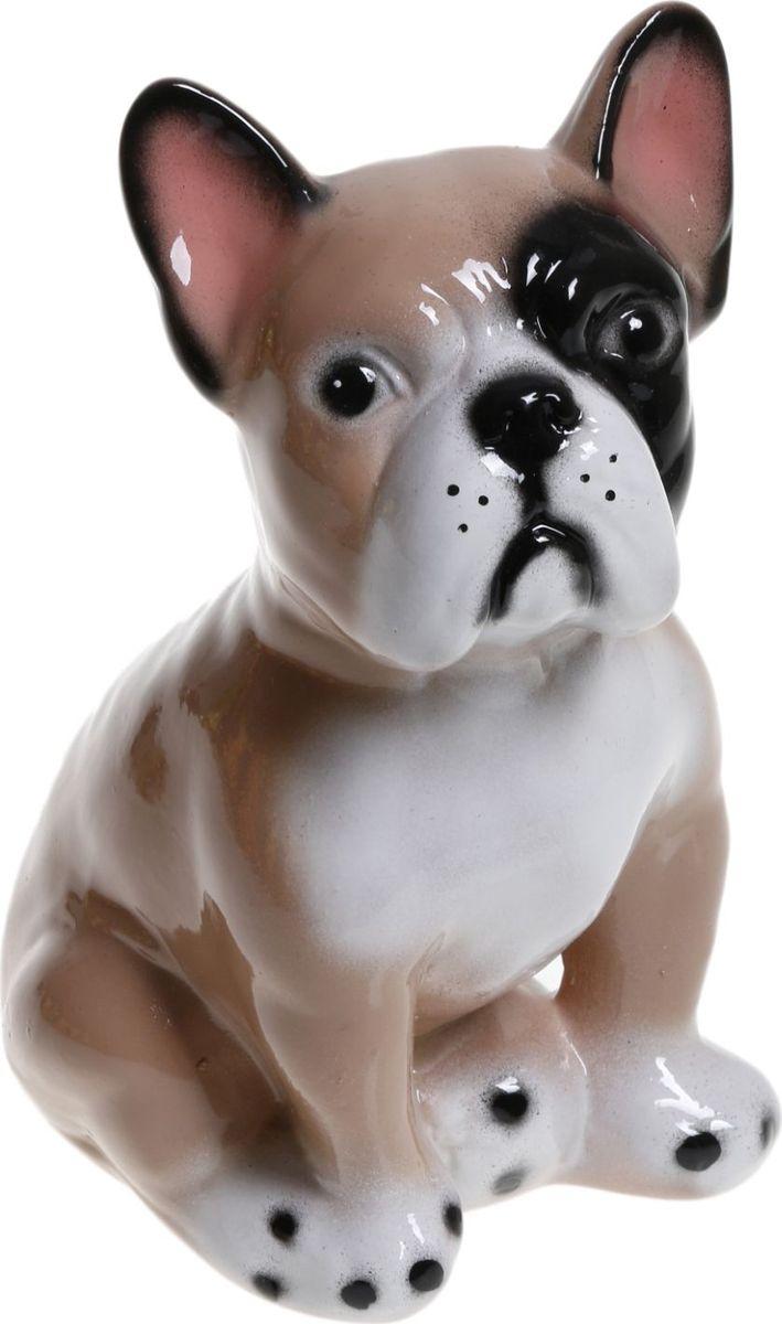 Фото - Копилка Керамика ручной работы Французский бульдог, 13 х 13 х 18 см копилка керамика ручной работы собака боксер 19 х 14 х 34 см