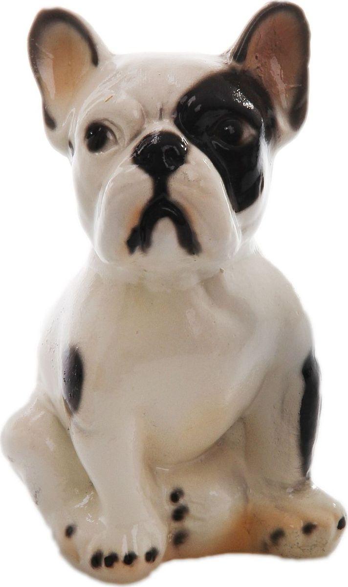 Фото - Копилка Керамика ручной работы Французский бульдог, 13 см х 11 см х 19 см копилка керамика ручной работы собака боксер 19 х 14 х 34 см