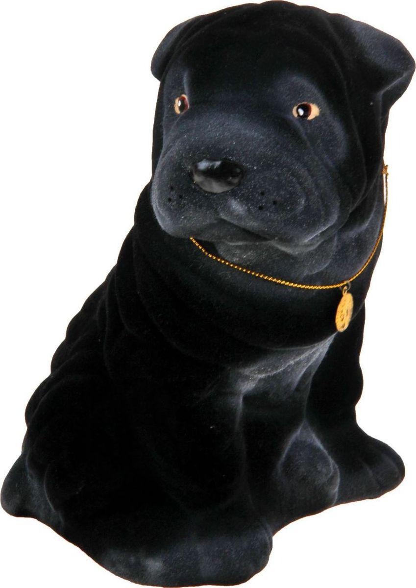 Фото - Копилка Керамика ручной работы Шарпей, 14 см х 17 см х 22 см копилка керамика ручной работы собака боксер 19 х 14 х 34 см
