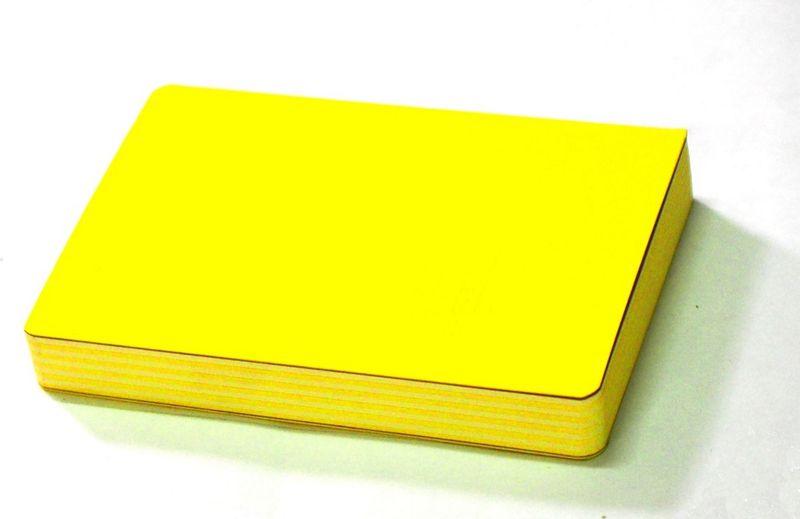 Карамба Блокнот цвет желтый 160 листов блокнот colorblock бм2018 160