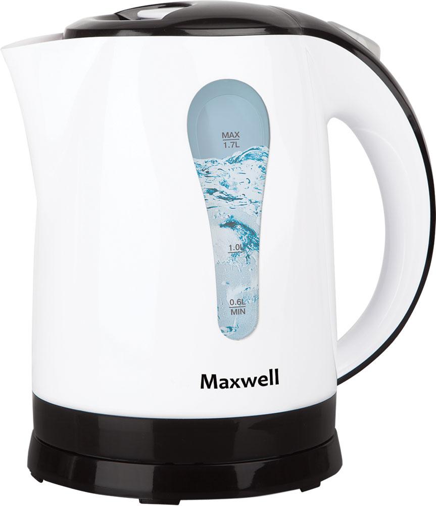 лучшая цена Электрический чайник Maxwell MW-1079(W)
