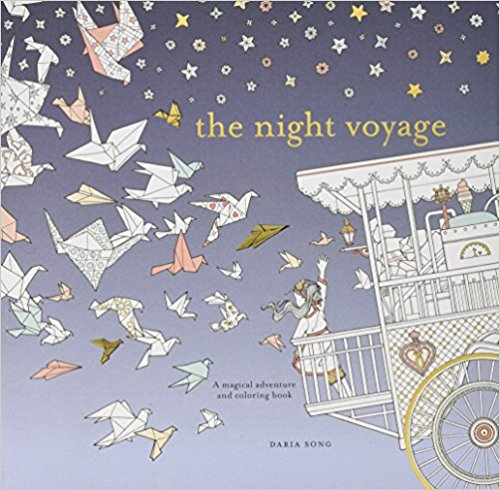 The Night Voyage: Time Adult Coloring Books