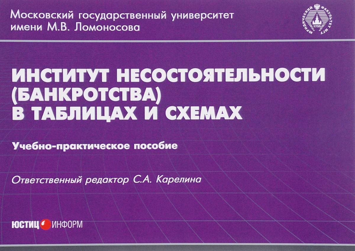 Институт несостоятельности (банкротства) в таблицах и схемах. Учебно-практическое пособие