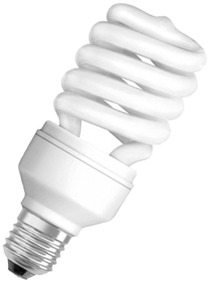 """Лампа люминесцентная Osram """"Duluxstar"""" Mini Twist 15Вт/840 E27 220-240В. 4052899916166"""