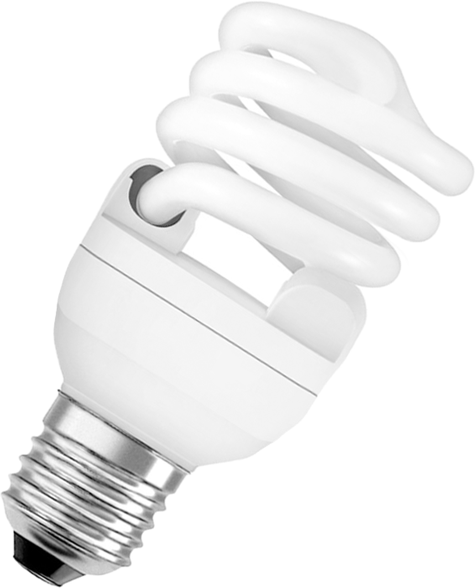 """Лампа люминесцентная Osram """"Duluxstar"""" Mini Twist 20Вт/827 E27 220-240В. 4052899916210"""