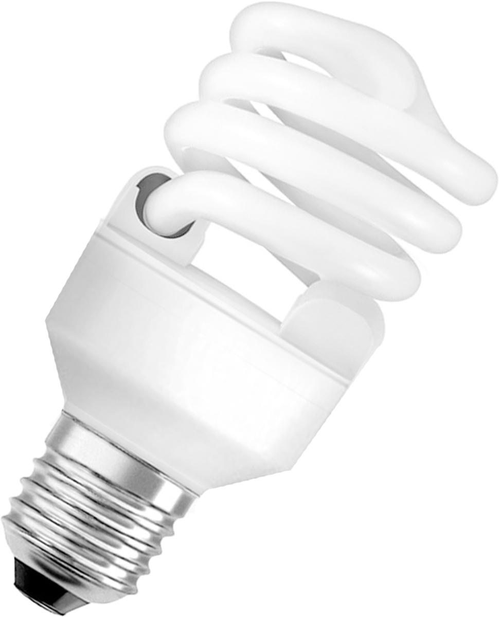 """Лампа люминесцентная Osram """"Duluxstar"""" Mini Twist 20Вт/840 E27 220-240В. 4052899916227"""