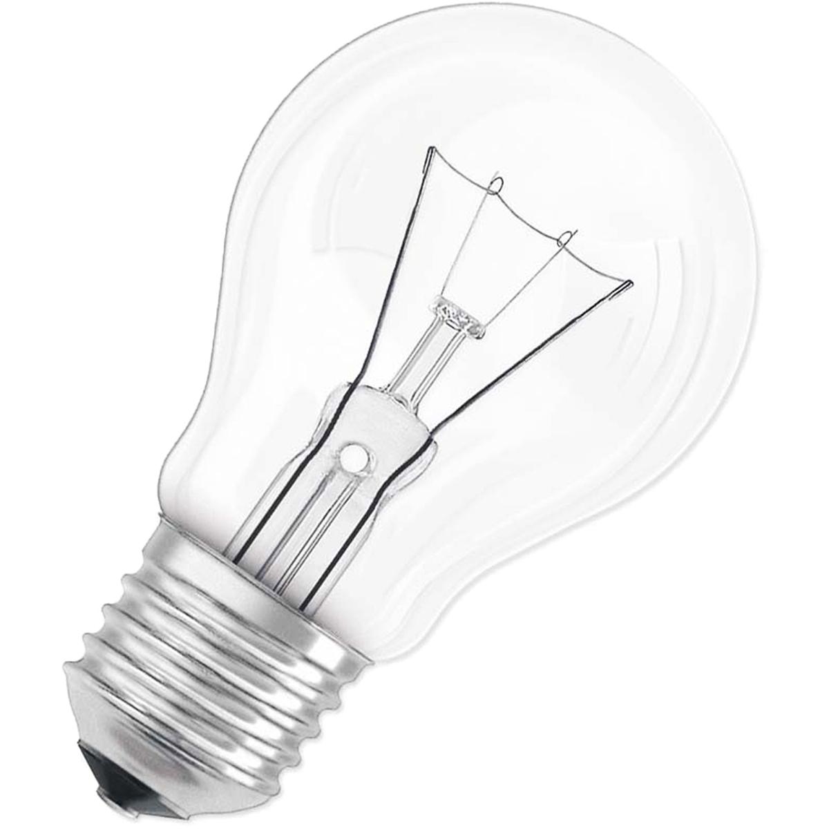 """Лампа накаливания Osram """"Classic"""" A CL 40Вт E27 220-240В. 4008321788528"""