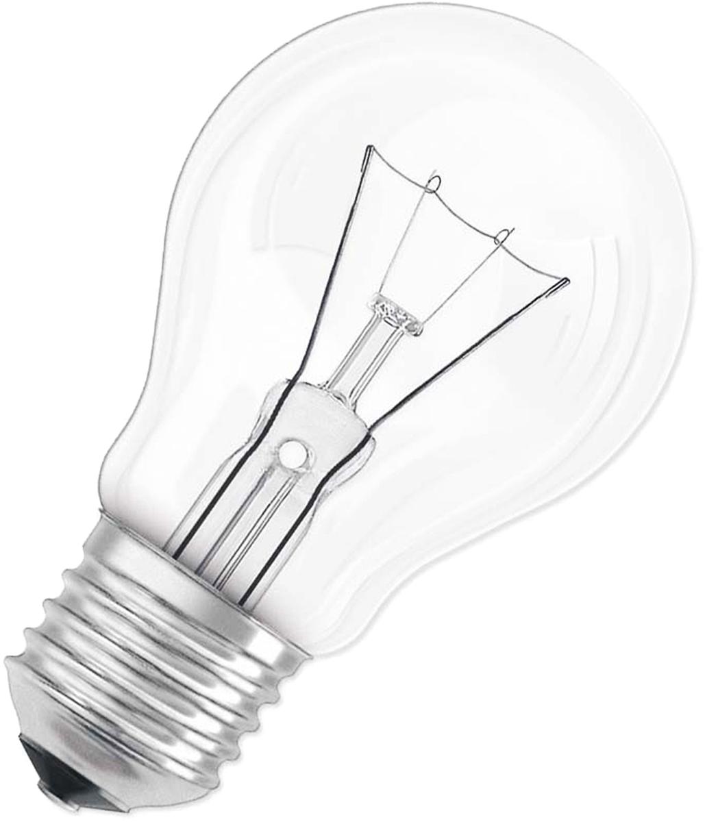"""Лампа накаливания Osram """"Classic"""" A CL 60Вт E27 220-240В. 4008321665850"""