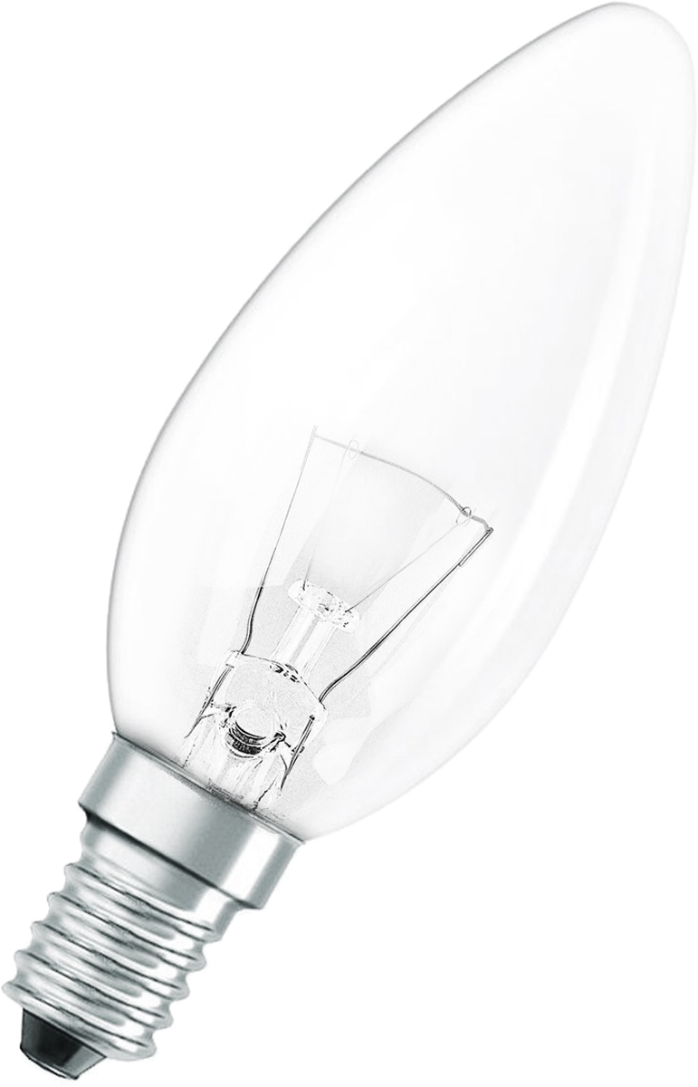 """Лампа накаливания Osram """"Classic"""" B CL 60W E14. 4008321665942"""