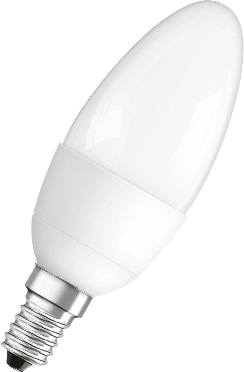 """Лампа светодиодная Osram """"LED Classic"""" B 40 5.4W/830 230V FR E14. 4052899971608"""