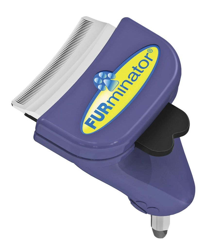 """Насадка - фурминатор для собак мелких пород """"FURminator"""", без ручки, длина лезвия 4,5 см"""
