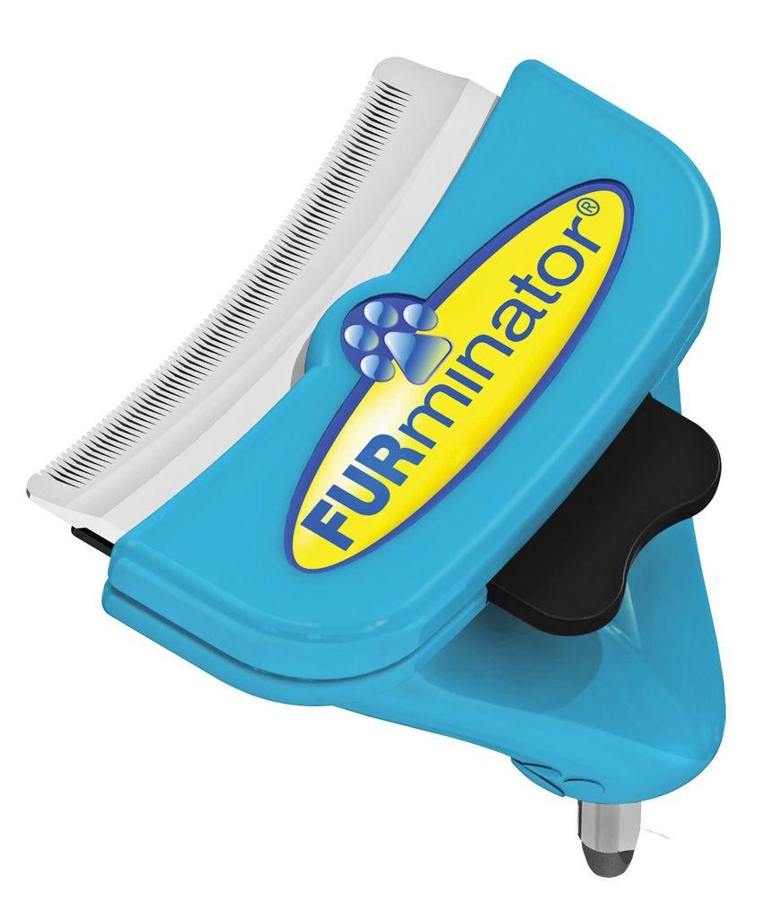 """Насадка - фурминатор для собак средних пород """"FURminator"""", без ручки, длина лезвия 7 см"""