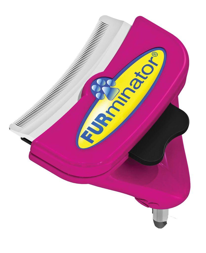 """Насадка - фурминатор для больших кошек """"FURminator"""", без ручки, длина лезвия 6,8 см"""