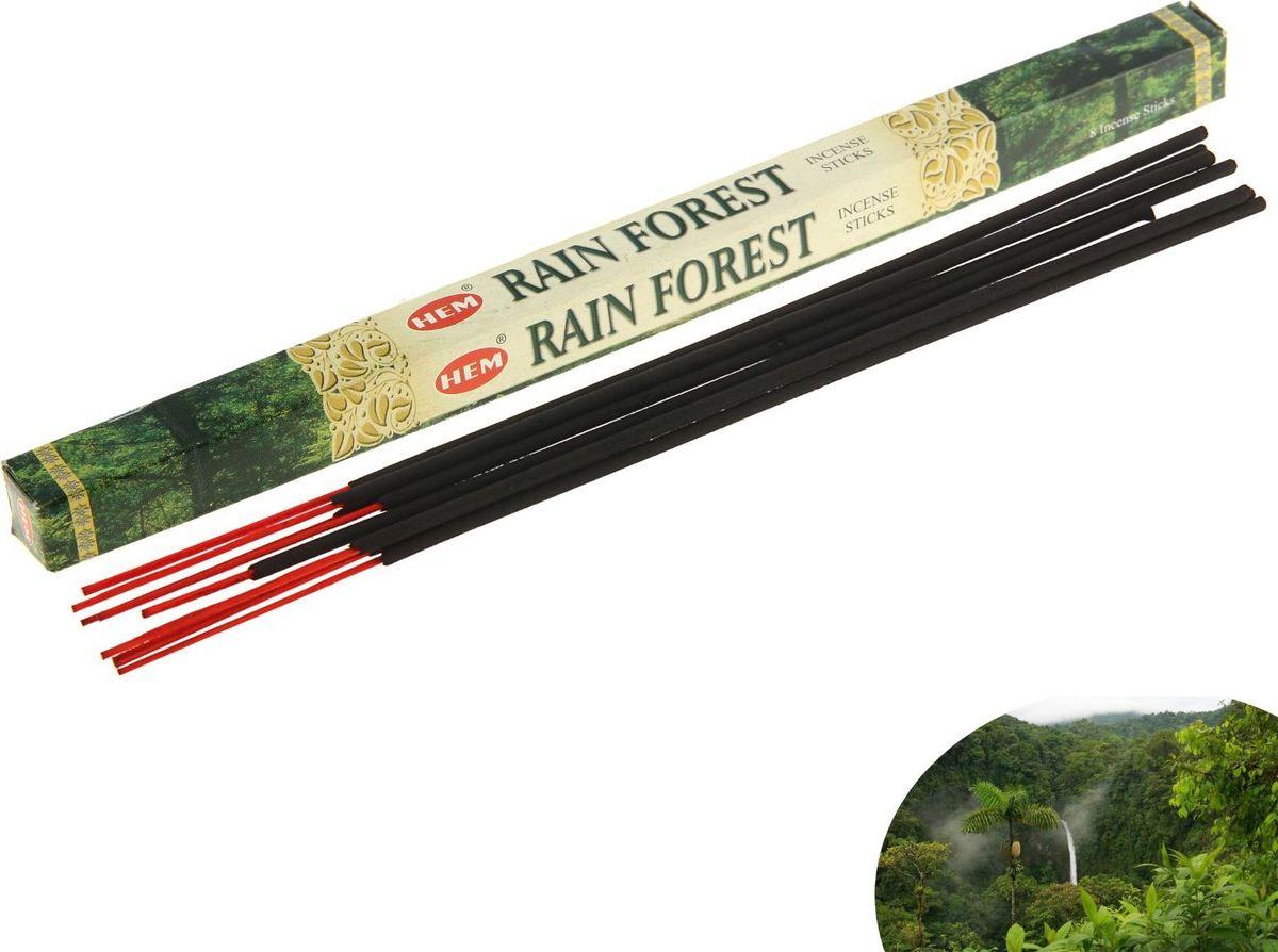 Благовония HEM Rain Forest (Тропический Лес), 8 палочек leaf print ruffle hem cami pajama set