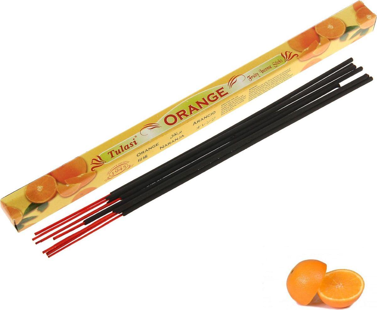 Палочки ароматические Sarathi Orange, 8 шт благовония sarathi индия цитронелла от комаров citronella 8 шт