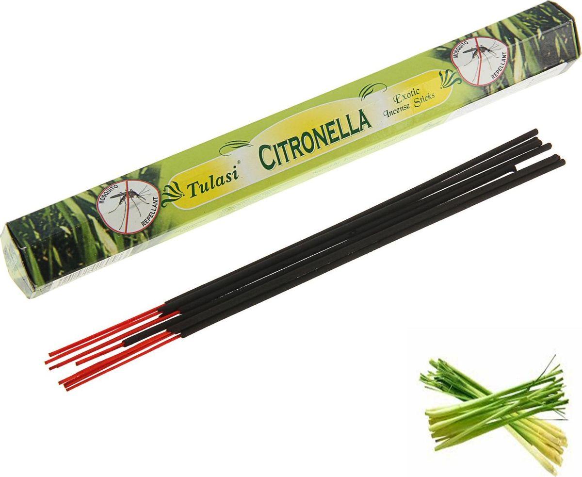 Палочки для благовоний Sarathi Citronella, 20 шт благовония sarathi индия цитронелла от комаров citronella 8 шт
