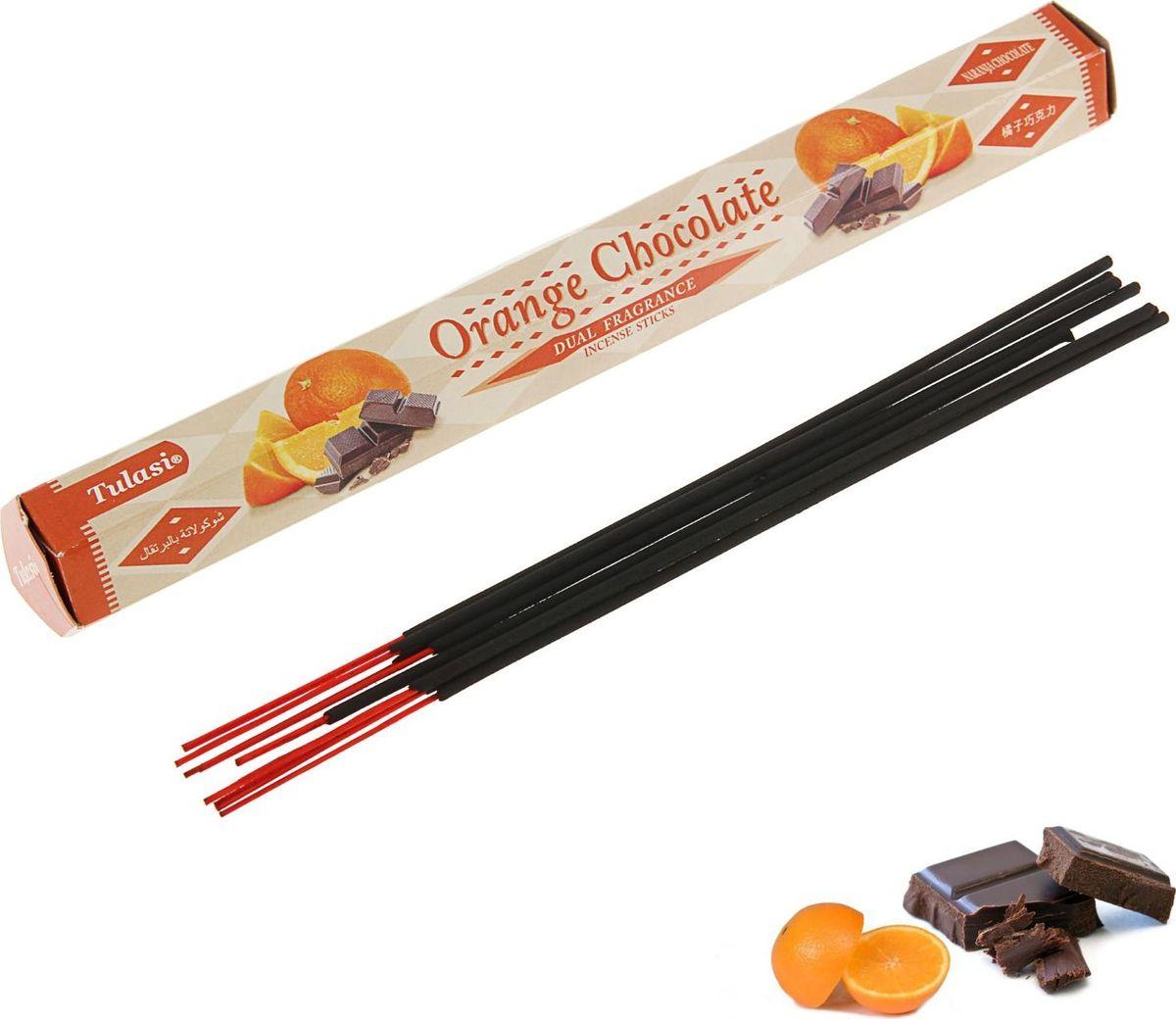 Палочки ароматические Sarathi Orange Chocolate, 20 шт цена