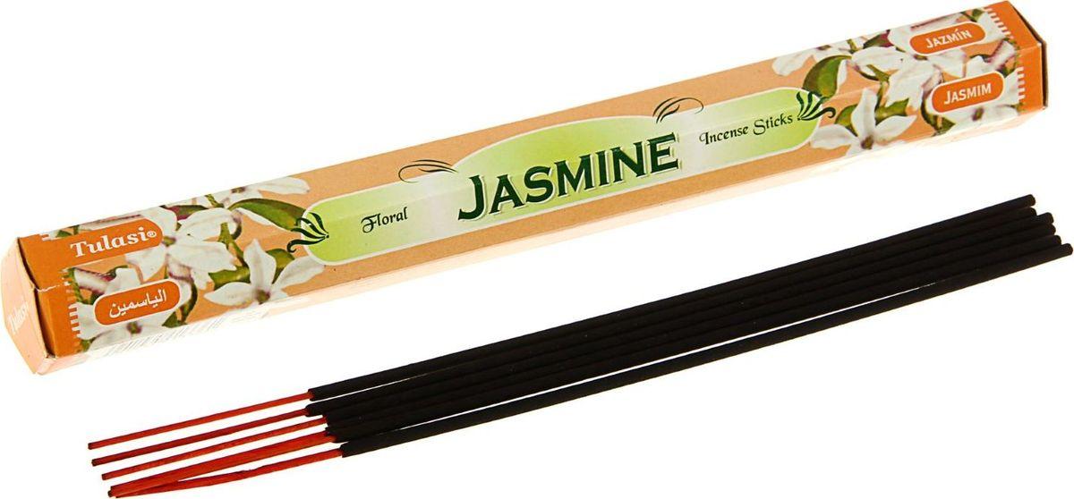Палочки ароматические Sarathi Jasmine, 20 шт1724037Благовония Sarathi Jasmine (Жасмин) имеют аромат, который способен поднять настроение, воодушевить, добавить жизненной энергии, создать незабываемую обстановку для благоприятного общения с близкими людьми. Рекомендуем!