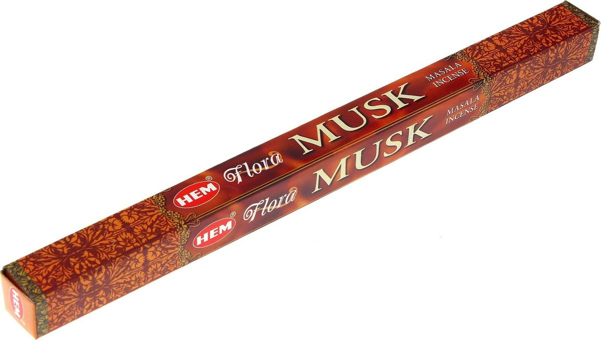Фото - Благовония HEM Flora Musk Masala (Мускус), 8 палочек lace hem shorts
