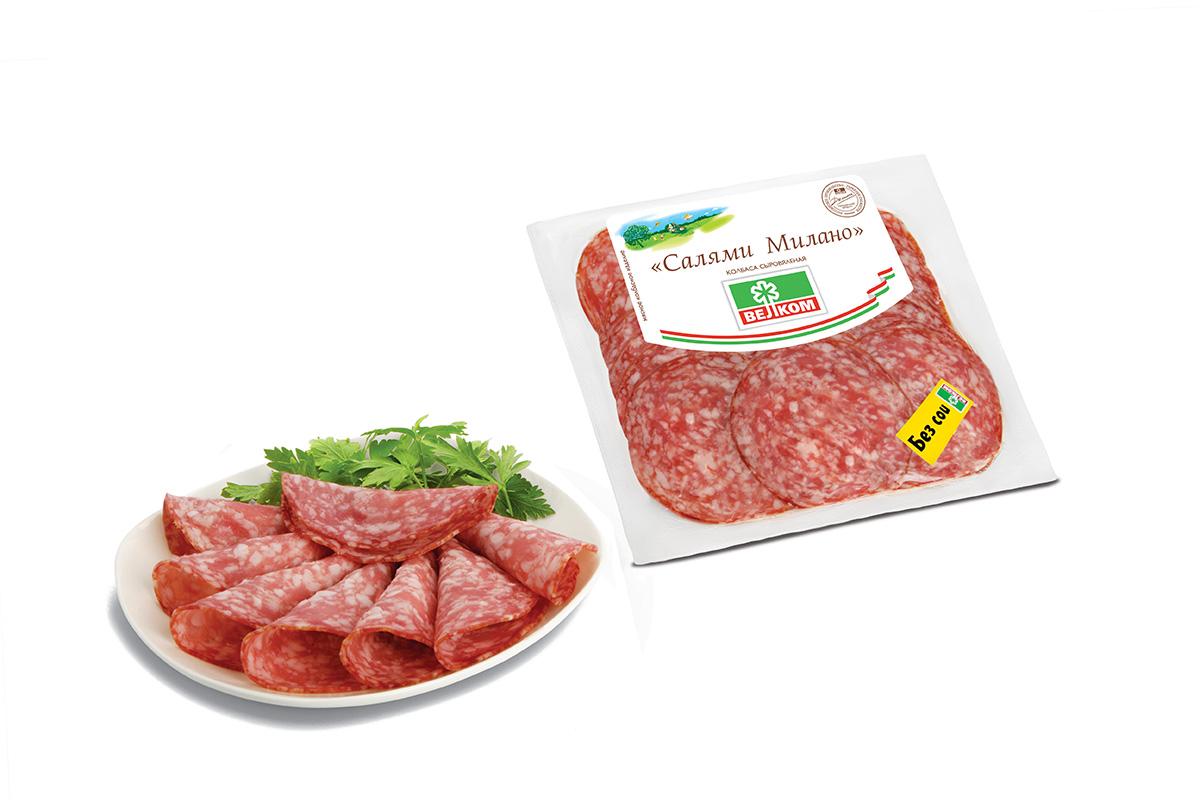 Велком Салями Милано колбаса сыровяленая, 300 г велком альпен салями сырокопченая 230 г