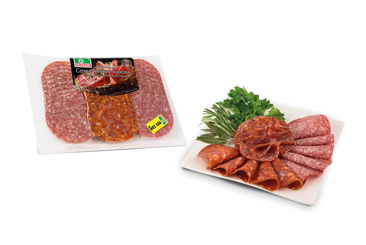 Велком Ассорти Милано, Чоризо, Фелино колбасы сырокопченые, 300 г велком альпен салями сырокопченая 230 г