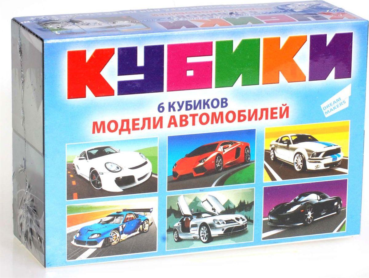 Dream Makers Кубики Модели автомобилей 6 шт