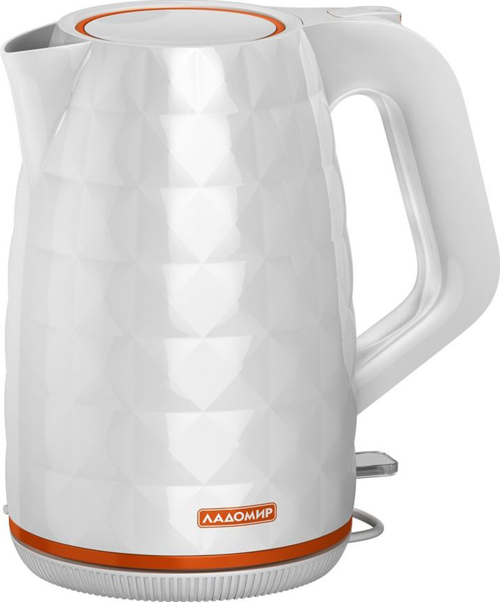 Электрический чайник Ладомир 329, цвет белый электрический чайник ладомир 144