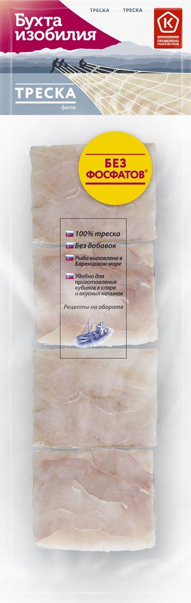 Бухта Изобилия Треска филе порционное, 400 г бухта изобилия треска мурманская порции 700 г