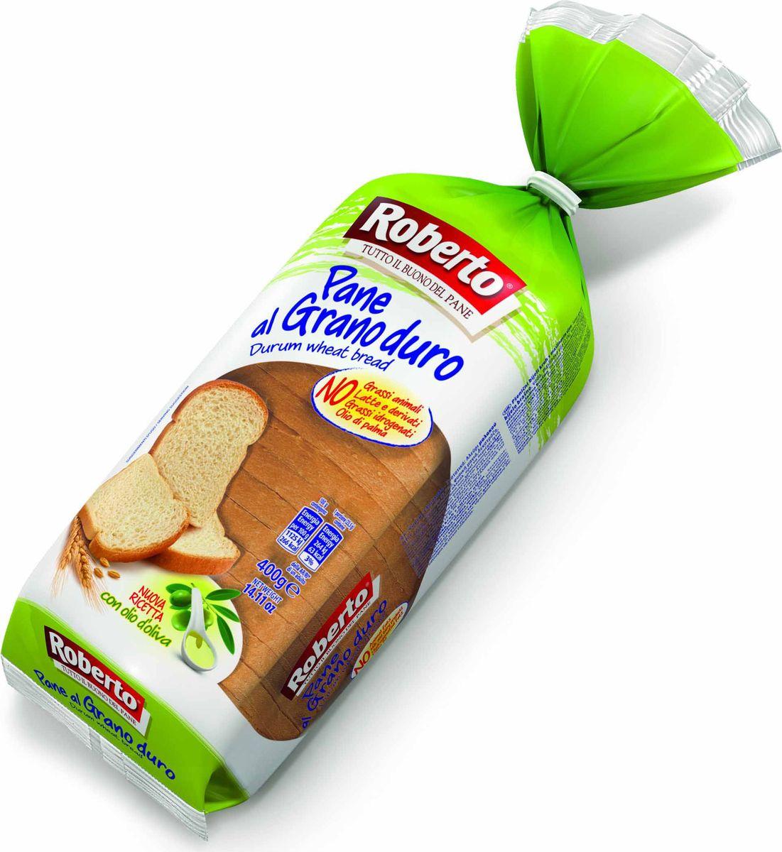 Roberto Хлеб из муки твердых сортов пшеницы, 400 г