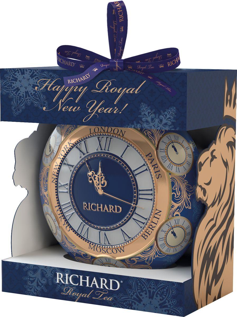 Richard New Year Ball Часы, черный листовой чай, 20 г цена 2017