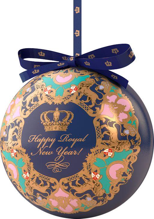 Richard Royal NY Ball синий, черный листовой чай, 40 г цена 2017