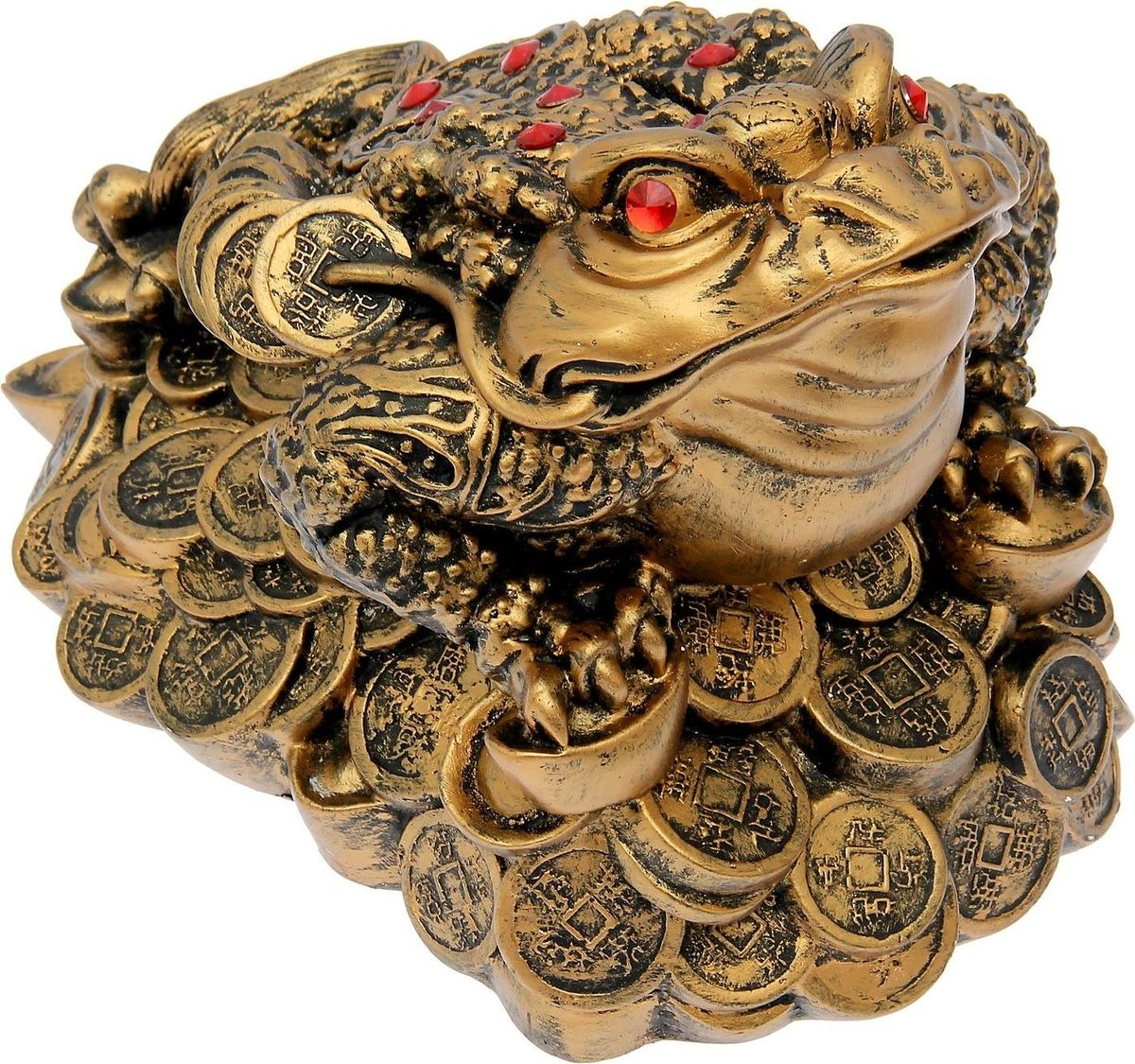 Копилка Premium Gips Денежная жаба, 33 х 23 х 25 см копилка premium gips денежная жаба 17 см х 19 см х 17 см