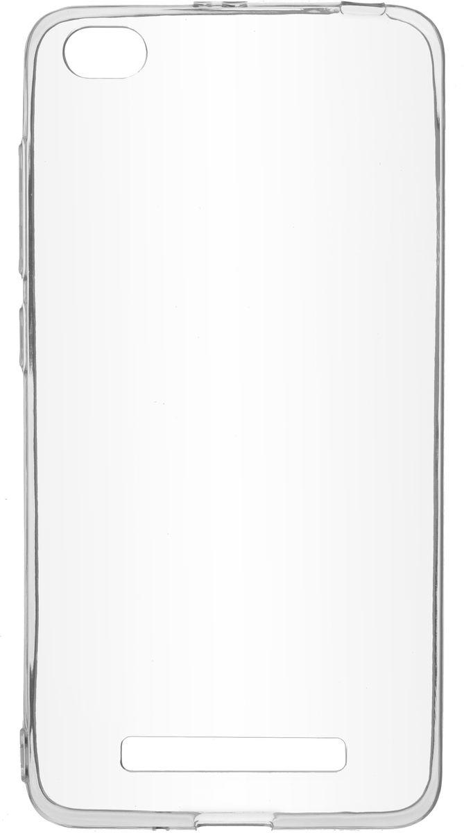 Skinbox 4People Slim Silicone чехол-накладка для Xiaomi Redmi 4A, Transparent цена