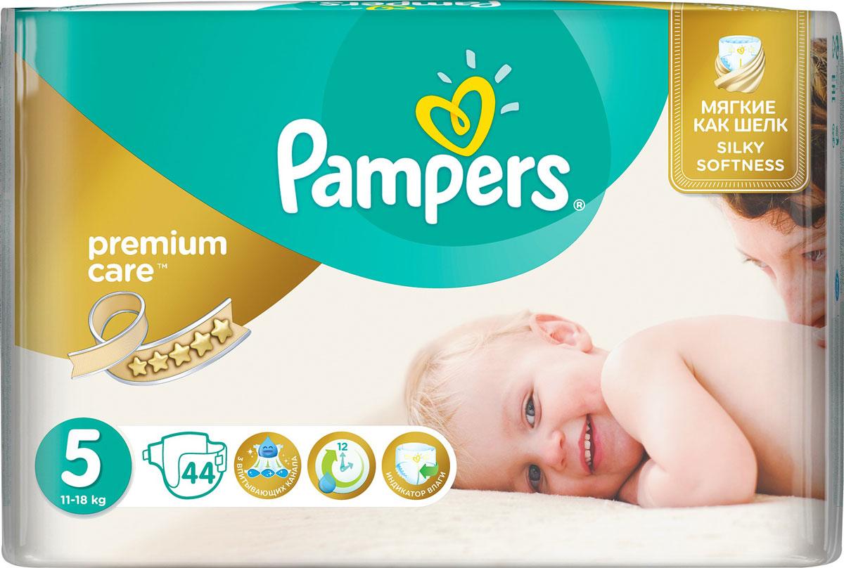 Pampers Premium Care Подгузники 5 (11-18 кг) 44 шт