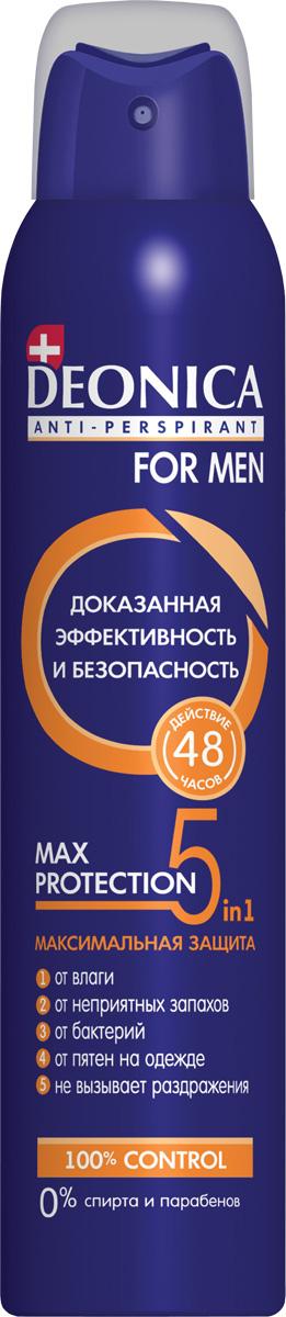 Deonica Дезодорант спрей 5Protection for Men, 200 мл