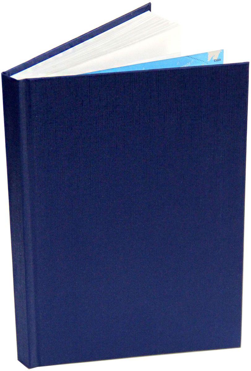 Канц-Эксмо Ежедневник недатированный 152 листа цвет темно-синий формат А5 недорого