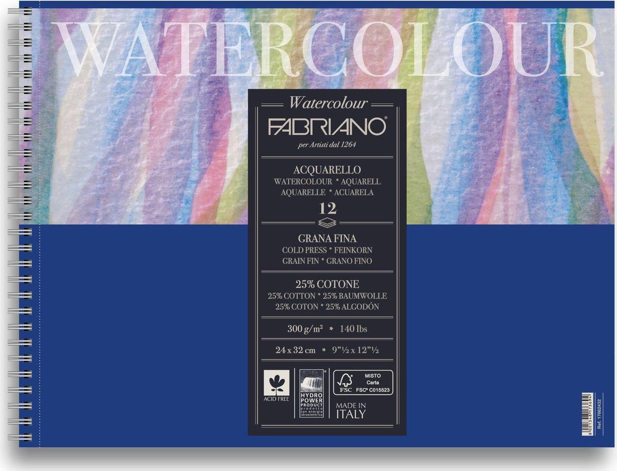 Fabriano Альбом для акварели Watercolour Studio 12 листов 17662432
