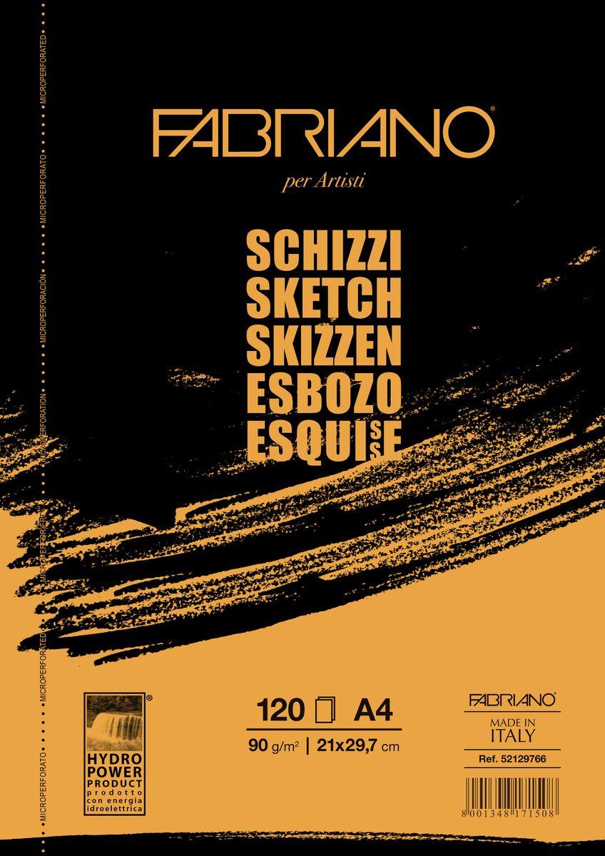 Fabriano Блокнот для зарисовок Schizzi 120 листов 52129766
