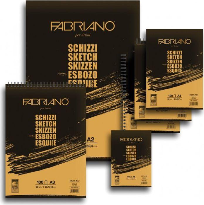 Fabriano Блокнот для зарисовок Schizzi 60 листов 56642594