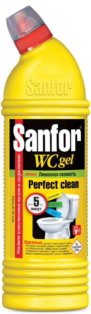 купить Гель универсальный для туалетной комнаты Sanfor