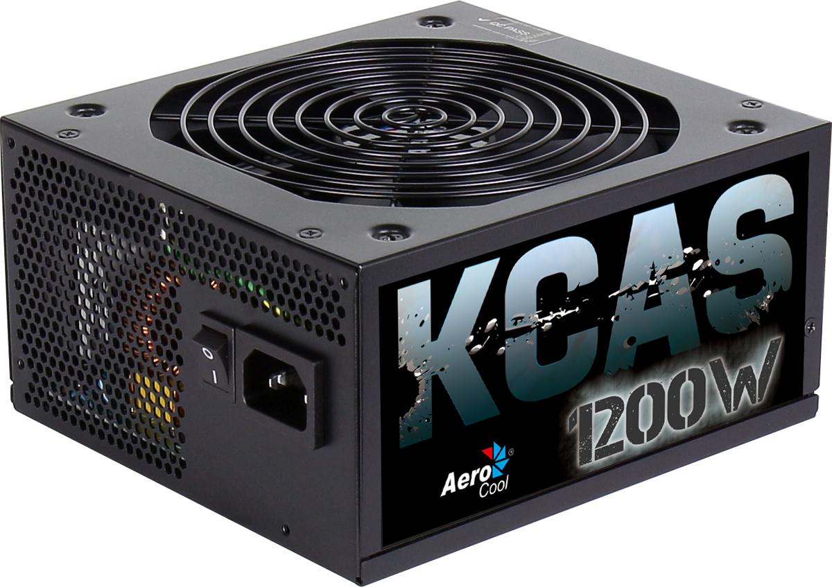 Блок питания компьютера Aerocool KCAS-1200M блок питания aerocool kcas 750g 750вт 120мм черный retail