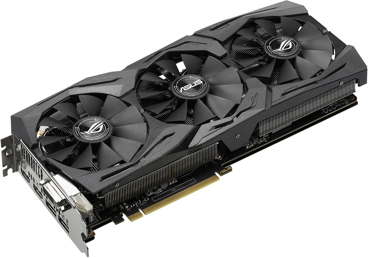 Видеокарта ASUS ROG Strix GeForce GTX 1060 6GB, STRIX-GTX1060-6G-GAMING