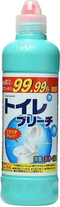 Средство чистящее для унитаза Rocket Soap, универсальное, 500 мл чистящее средство для унитаза bref сила актив с хлор компонентом 50г