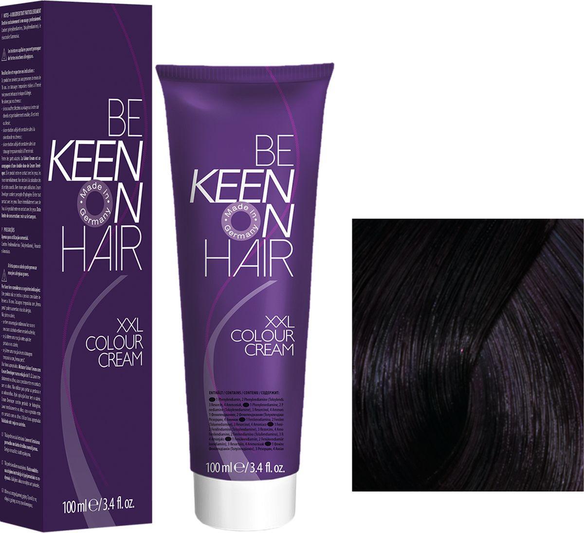 Keen Краска для волос 1.8 Иссиня-черный Blau-Schwarz, 100 мл69100009Модные оттенкиБолее 100 оттенков для креативной комбинации цветов.ЭкономичностьПри использовании тюбика 100 мл вы получаете оптимальное соотношение цены и качества!УходМолочный белок поддерживает структуру волоса во время окрашивания и придает волосам блеск и шелковистость. Протеины хорошо встраиваются в волосы и снабжают их влагой.