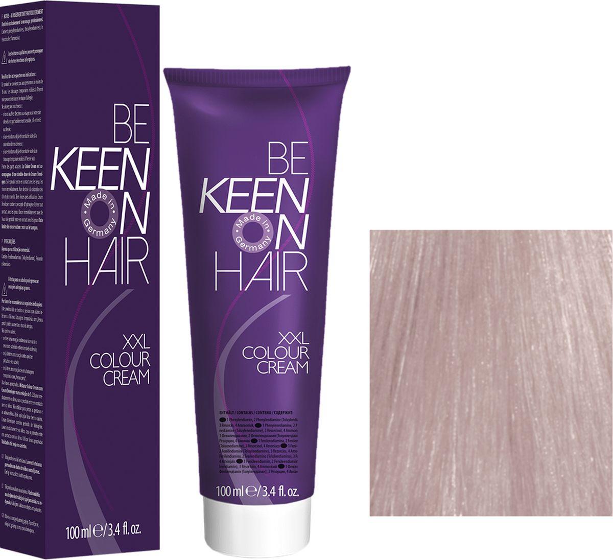 KeenКраска для волос 10. 8 Ультра-светлый жемчужный блондин Ultrahellblond Perl, 100 мл Keen