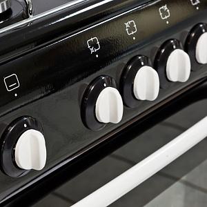 De Luxe 5040.38г, Black плита газовая DeLuxe