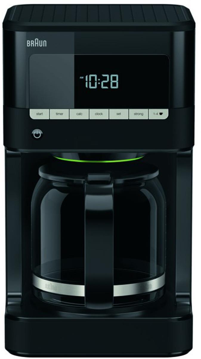 Кофеварка капельная Braun KF7020, Black кофеварка braun kf3120bk капельная черный [0x13211019]