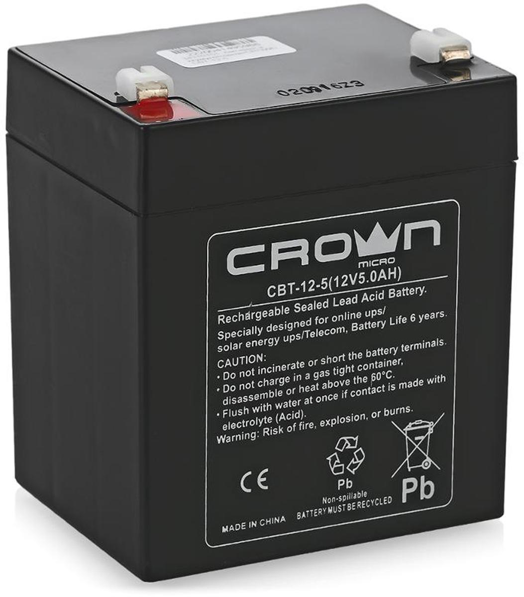 """Аккумулятор для ИБП Crown Micro """"СВТ-12-5"""""""