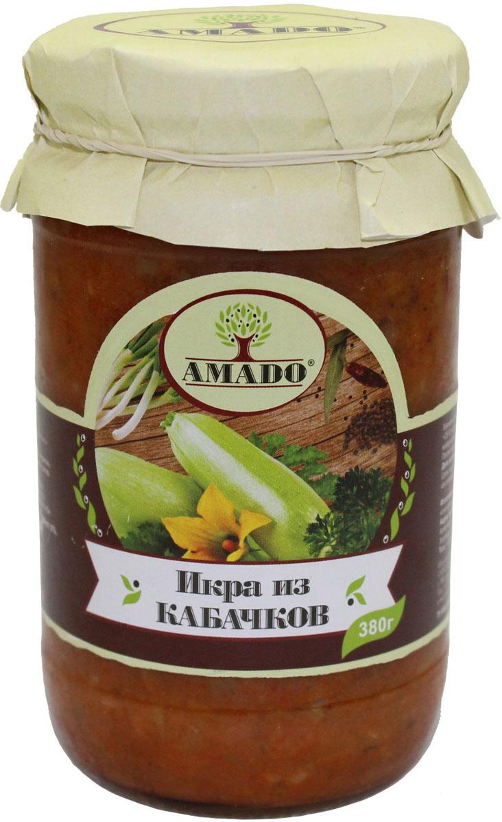 Amado икра из кабачков, 380 г цены